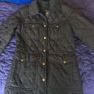 Jcrew Quilted Jacket size xs